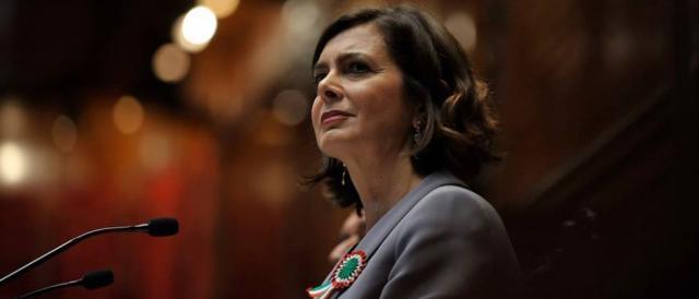 La presidente della Camera, Laura Boldrini
