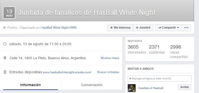 Los fanáticos de HWN organizan juntada por Facebook.