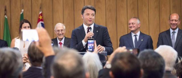 Matteo Renzi predica fiducia per il Referendum Costituzionale