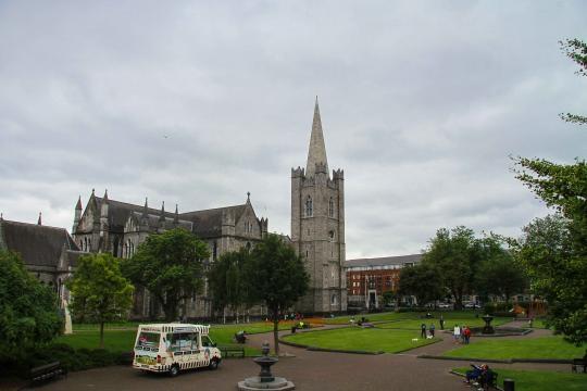 St Patrick Cathedral, ireland ©Zanatta