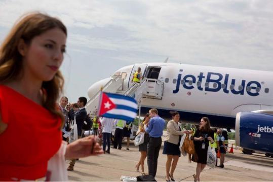Historic commercial U.S. flight lands in Cuba | The Salt Lake Tribune - sltrib.com