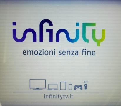 Programmazione Infinity mese di settembre.
