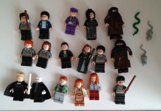 Figurines de l'univers Lego d