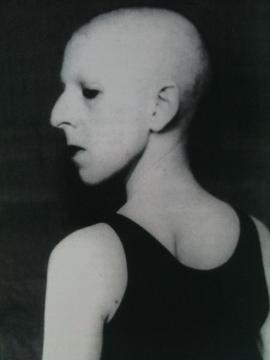 Autorretrato número 5. Fotografía de Claude Cahun, 1930.