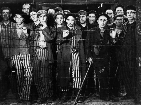Liberación de Buchenwald. Fotografía de Margaret Bourke-White, abril de 1945.
