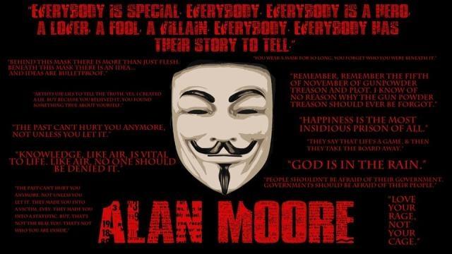 Citations d'Alan Moore dans ses oeuvres