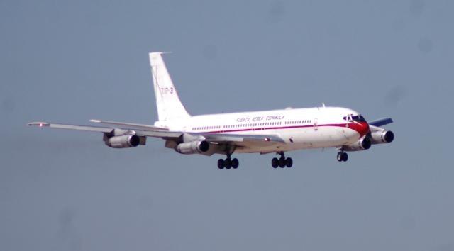 El B-707 tras 28 años de servicio le llego la hora del relevo.