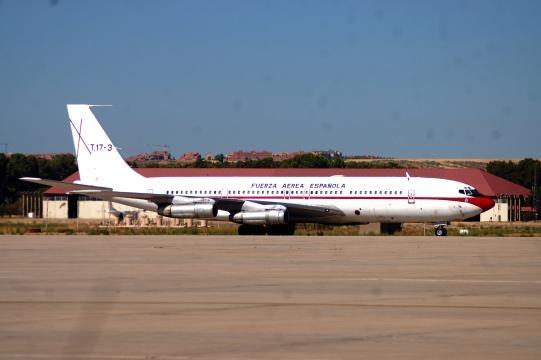 Hasta siempre de B-707 avión del Ejército del Aire. Te echaremos de menos.