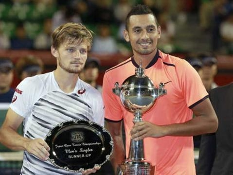 Nick Kyrgios Beats David Goffin to Lift Japan Open Title – NDTV Sports - ndtv.com