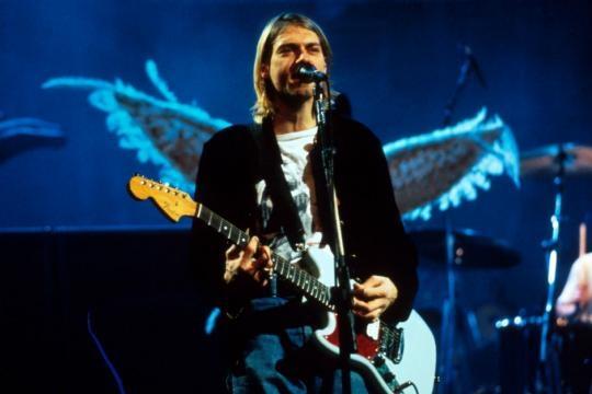 Nirvana: Frotnman Kurt Cobain (Smells like Teen Spirit)