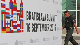 Il vertice di Bratislava tra i 27 leader dell'UE