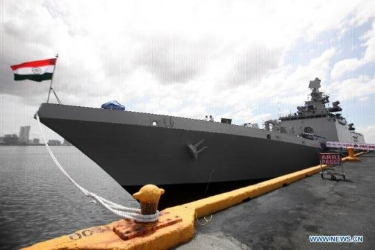 Indian naval warship starts four-day visit in Philippines - Xinhua ... - xinhuanet.com