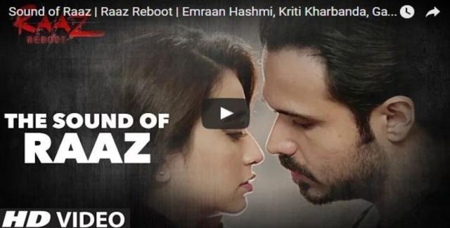 Sound of Raaz | Raaz Reboot | Emraan Hashmi, Kriti Kharbanda ... - todayincity.com