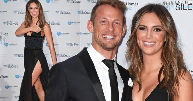 Brittny Ward, la nueva novia de Jenson Button mirror.co.uk