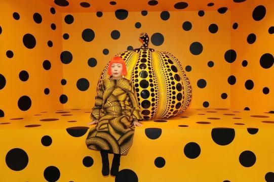 Yayoi Kusama | Kusama with Pumpkin, 2010