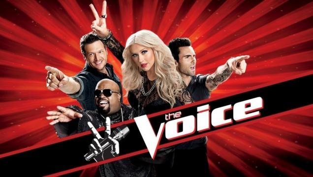 Christina Aguilera in The Voice US - givememora.com