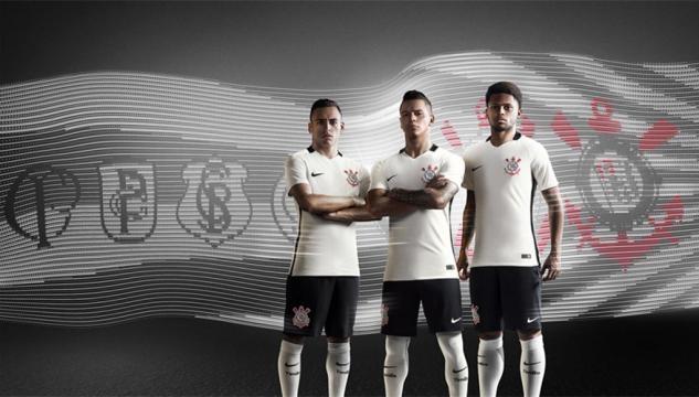 Camisa Nike do Corinthians 2016