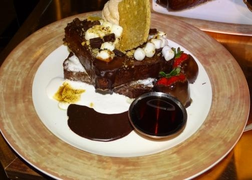 Save stomach space for one of the massive desserts. (Photo by Barb Nefer)