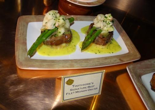 Succulent steak is a popular menu item. (Photo by Barb Nefer)