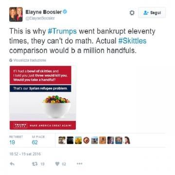 Anche la comica e avvocatessa Elayne Boosler si è pronunciata sulla questione