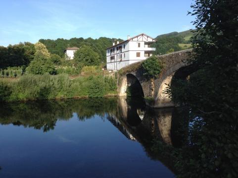 El puente de San Miguel, escenario de la guerra contra los franceses.
