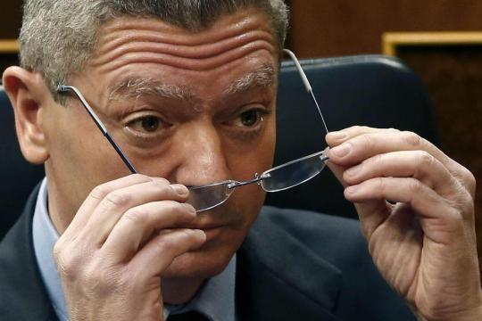 Gallardón propone pasar de 17.621 a 22 aforados en España ... - infolibre.es