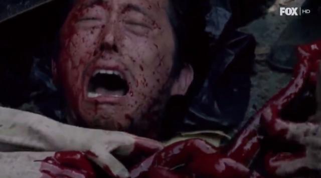 En esta escena puede estar basada la muerte de Glenn.