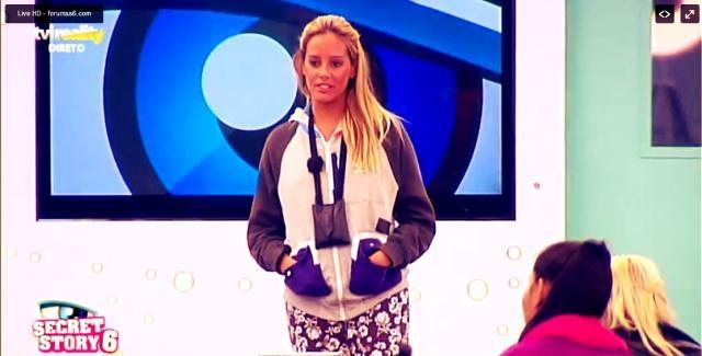Helena é concorrente do reality show da TVI