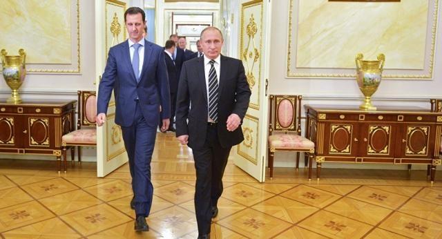 Bachar el-Assad a rencontré Vladimir Poutine à Moscou mardi soir - sputniknews.com