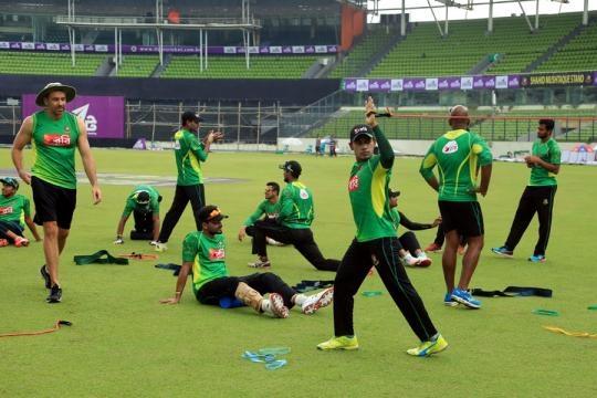 Bangladesh v Afghanistan - Practice at Dhaka (Panasiabiz.com)