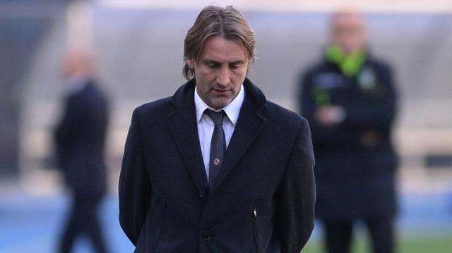 Davide Nicola, tecnico del Crotone.