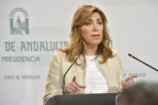 Susana Díaz líder politica española