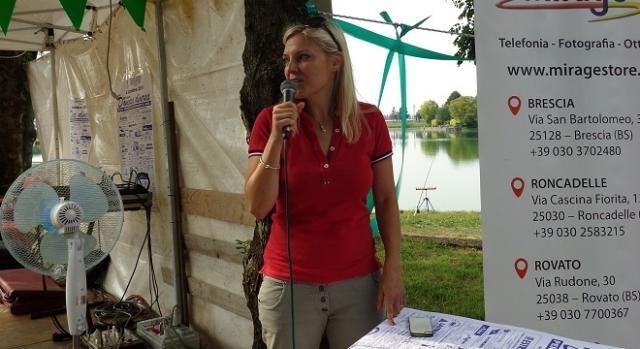 Alessandra Saldini ha presentato i momenti della festa.