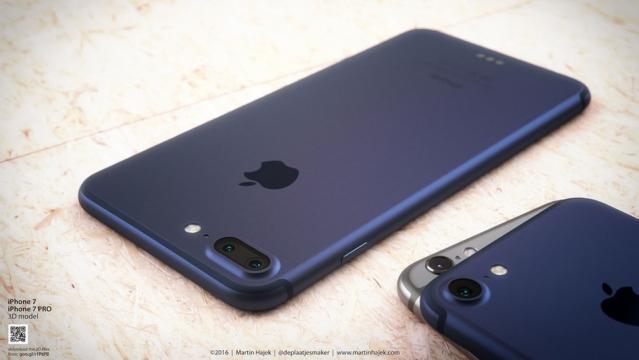 Una foto del nuovo iPhone 7 - forbes.com
