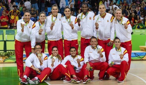La selección femenina de baloncesto, reciente subcampeona olímpica en RIO 2016