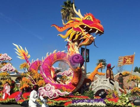 Happy New Year from the Beautiful Pasadena Rose Parade! - culturehoney.com