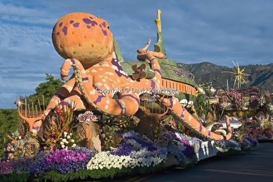 Tournament of Roses Parade Floats, Pasadena CA | David Zanzinger ... - photoshelter.com