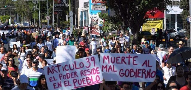 El poder reside en el pueblo, artículo 39, Mexico.
