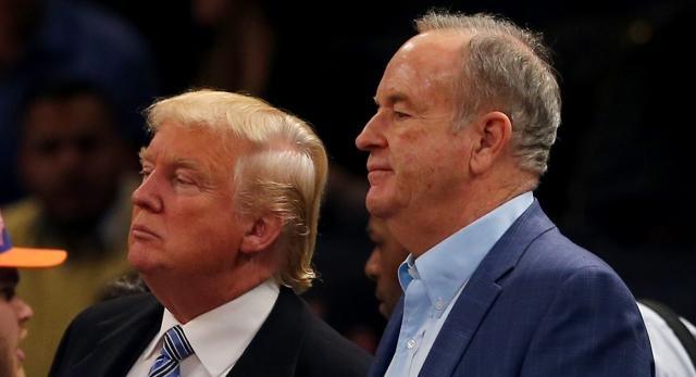 Trump's newest feud, Bill O'Reilly. Imagem: politico.com