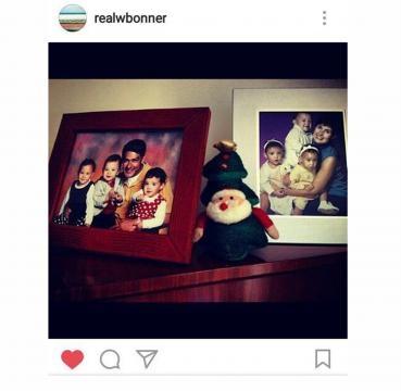 Fotos que Bonner tinha em seu Instagram.