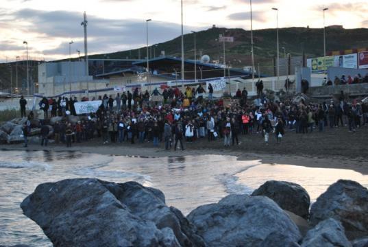 Playa del Tarajal, ciudad autónoma de Ceuta
