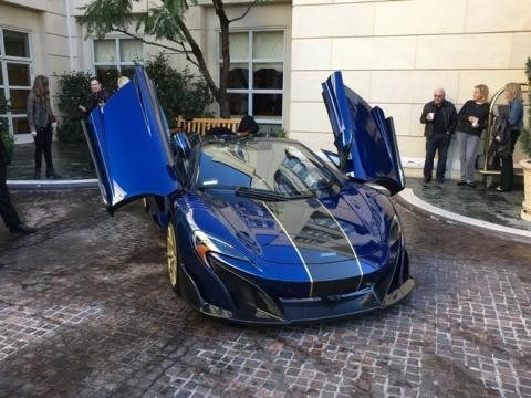 McLaren customizada custou US$ 820 mil, quase três vezes o valor de um modelo padrão