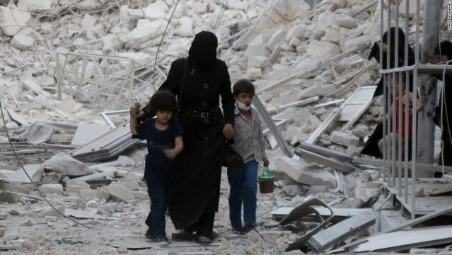 Syria airstrikes kill 85 people in Aleppo amid diplomatic row ... - cnn.com