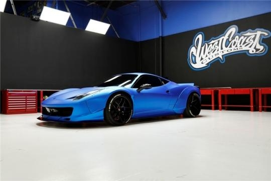 Ferrari de Bieber foi customizada pela West Coast Customs