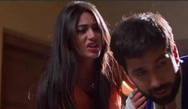 Surbhi Chandna and Nakuul in Ishqbaaz (Youtube screen grab)