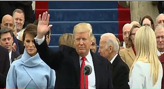 Día de investidura de Donald Trump RT