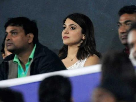 India vs Sri Lanka: Anushka Sharma Cheers for Record-Breaking ... - ndtv.com