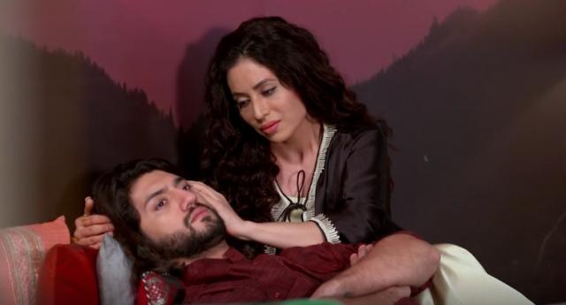 Jhanvi and Omkara in Ishqbaaz (Youtube screengrab)