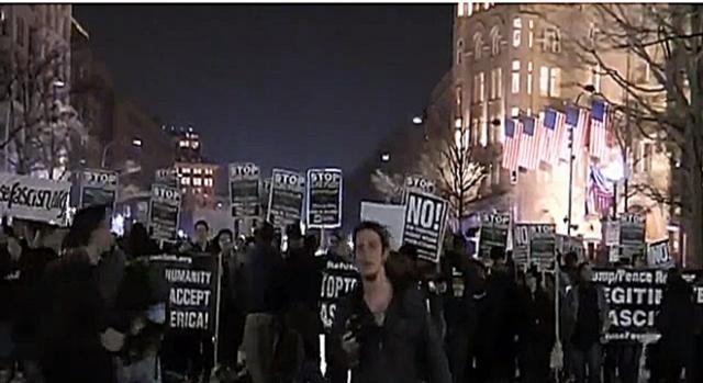 Protestas anti-Trump en Washington D.C. RT en español