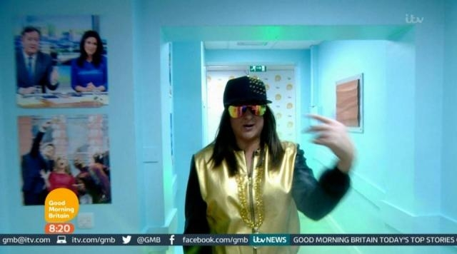 Time to go Honey G, time to go